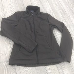 Patagonia fleece lined zip-up jacket - sz M